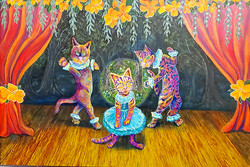 "HM Animal ""Kitty Ballet"""