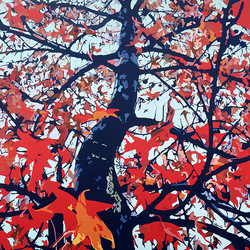 """HM Abstract """"Autumn Breeze"""""""
