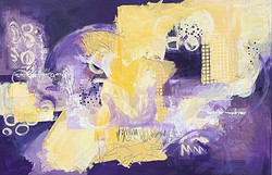 """1st Place Abstract """"Springtime #1"""""""
