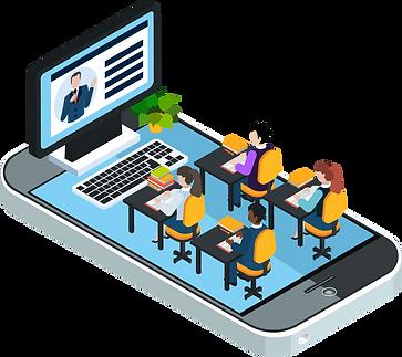 Online webinar, e-learning