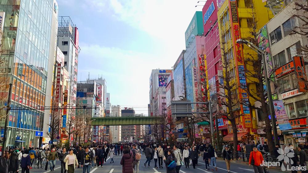 Akihabara in Tokyo, Shopping für Anime und Manga Fans