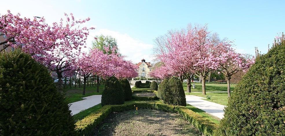 Goethepark in Klagenfurt