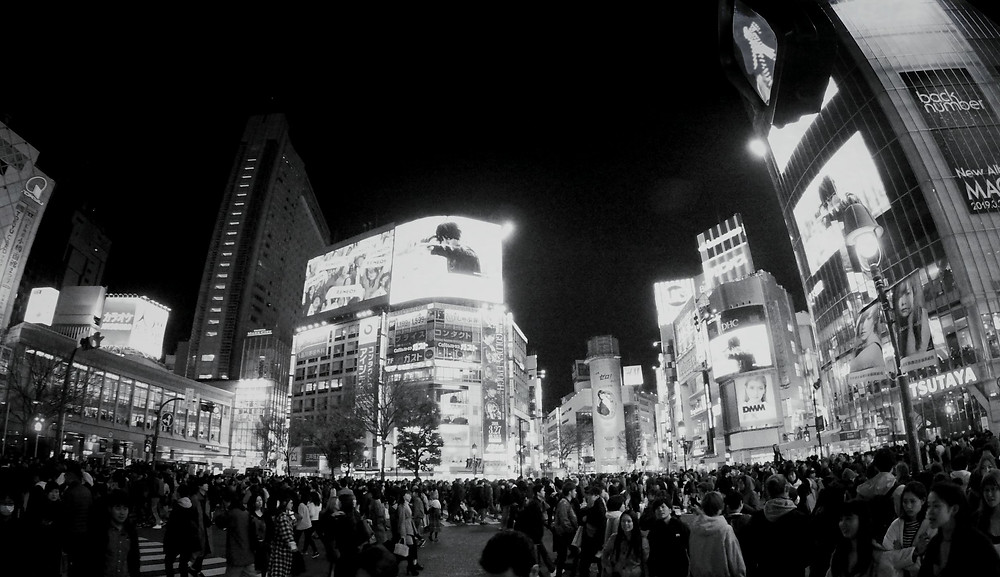 Shibuya Kreuzung in Tokyo