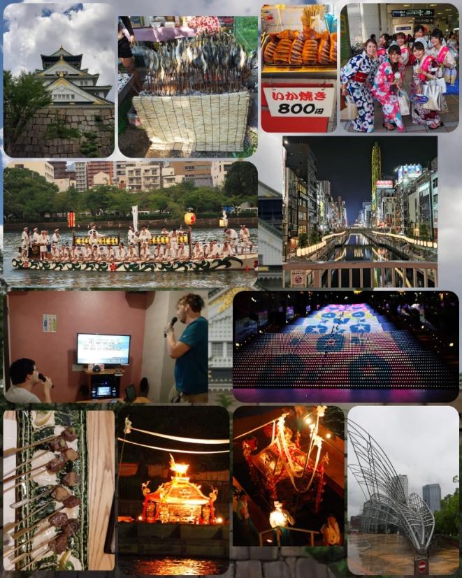 Erlebnisse in Osaka