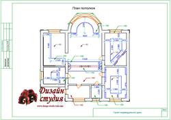 план потолков