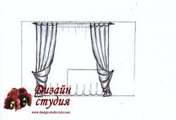 шторы с подхватом