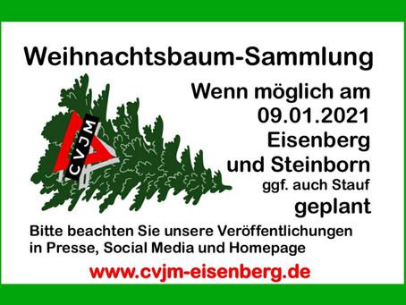 Weihnachtsbaumsammlung 2021