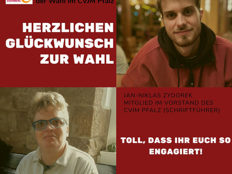 Wahl beim CVJM Pfalz