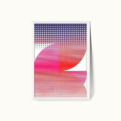 Tangram Slice IX | Limited Edition Giclee Print | 50 x 70cm