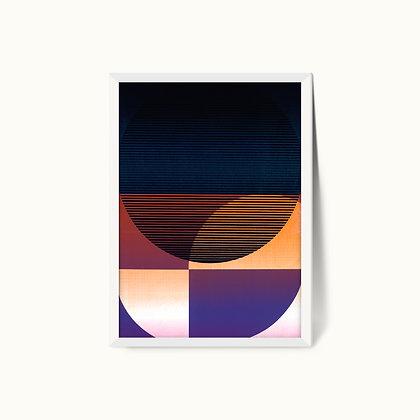 Tangram Slice XV   Limited Edition Giclee Print   50 x 70cm
