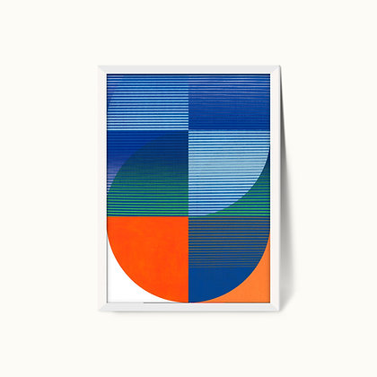 Tangram Slice I | Limited Edition Giclee Print | 50 x 70cm