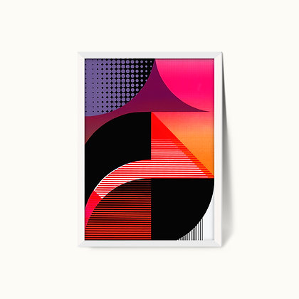 Tangram Slice XII | Limited Edition Giclee Print | 50 x 70cm