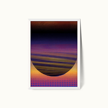 Tangram Slice VII | Limited Edition Giclee Print | 50 x 70cm
