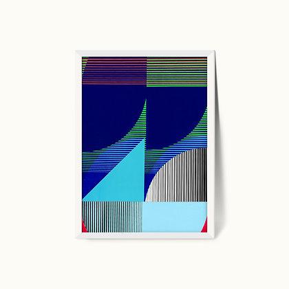 Tangram Slice VIII | Limited Edition Giclee Print | 50 x 70cm