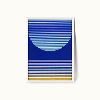 Tangram Slice II | Limited Edition Giclee Print | 50 x 70cm
