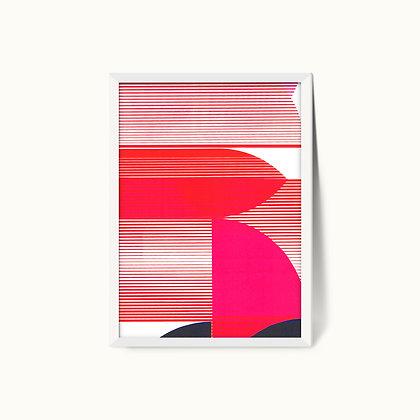 Tangram Slice V | Limited Edition Giclee Print | 50 x 70cm