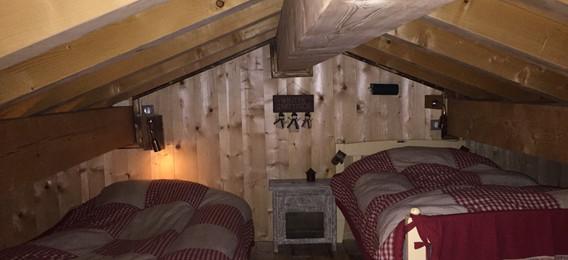 Chambre quadruple mezzanine Kitzbuhel