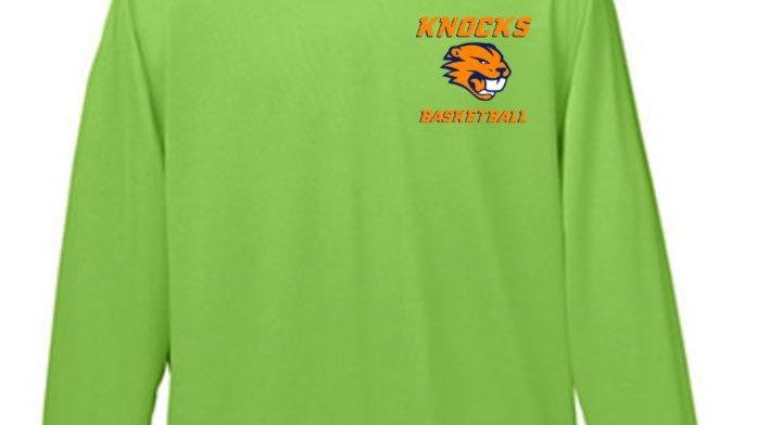 Knocks Long Sleeve Tee - Green