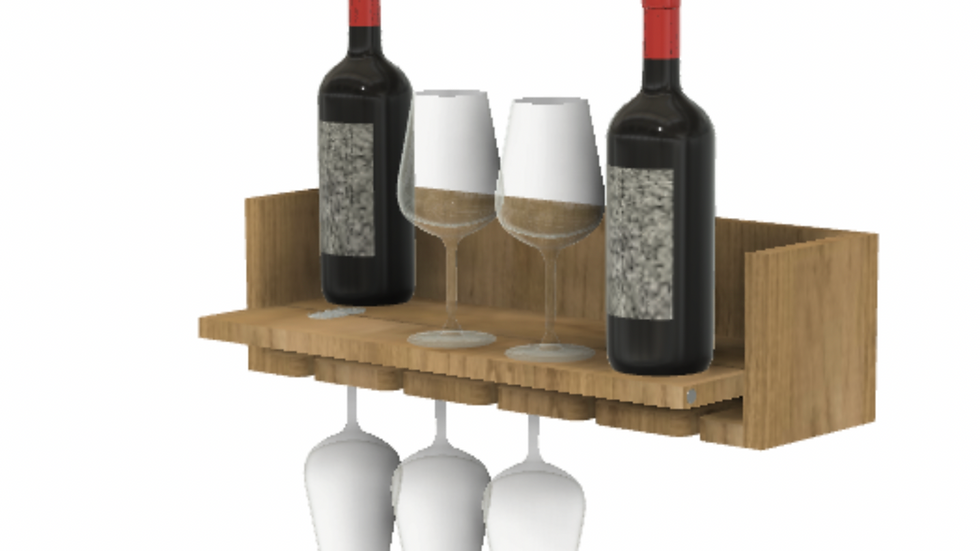 Wine Rack and Serving station