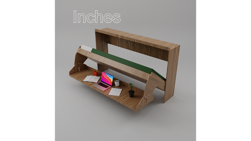 Inches - Single Bed Desk