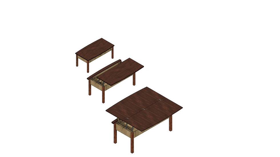 Lift and Flip Coffee Table