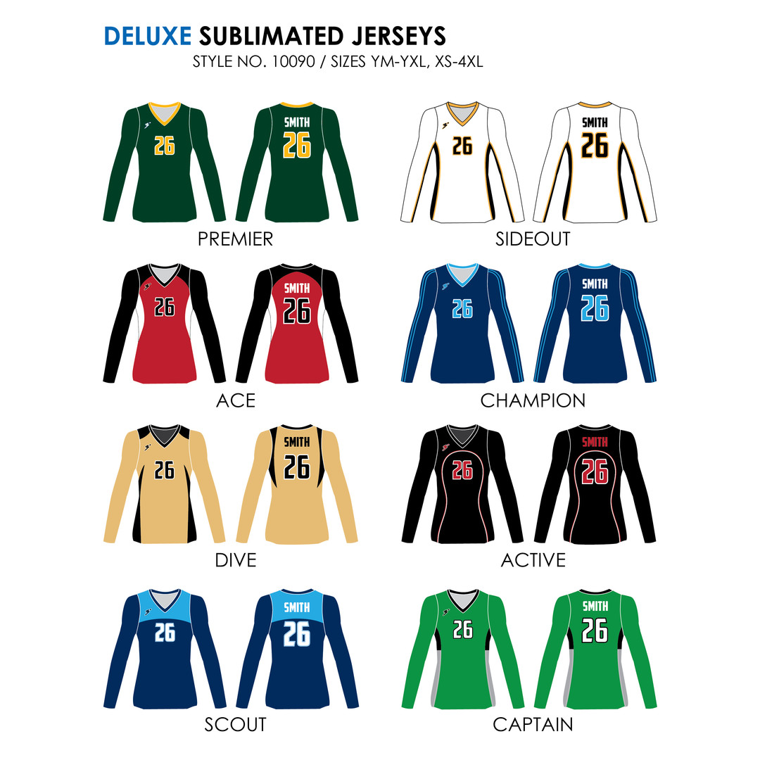 Deluxe Jerseys