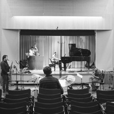 Next to Normal recording session