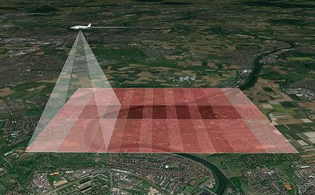 Luftbildvermessung Bildflug