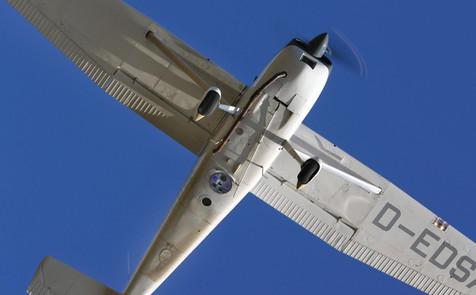 Cessna 180 - Kamera