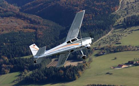 Cessna 180 - Bildflug