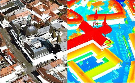 Digitales Oberflächenmodell DOM