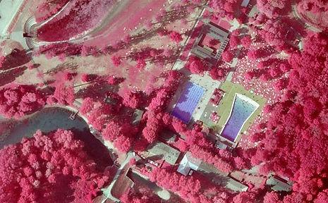Infrarot Luftbilder