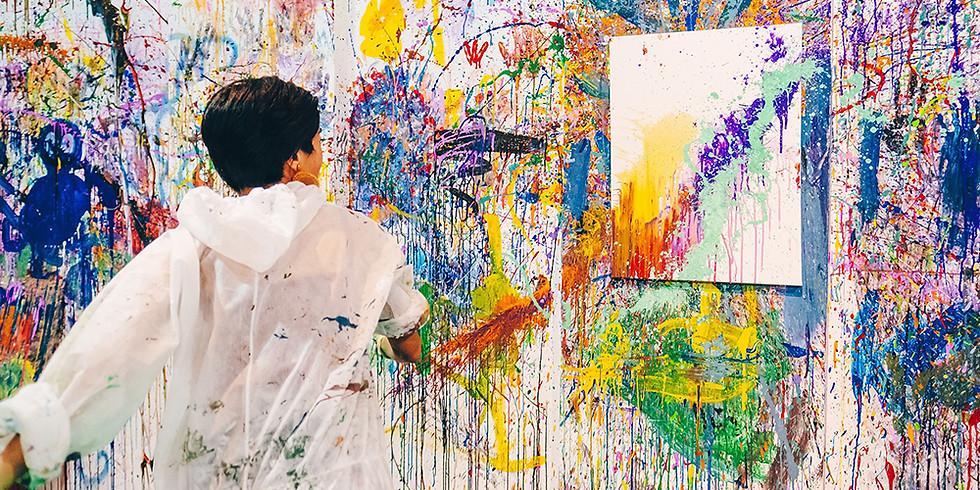 Splat Paint House - Get messy splatter painting!