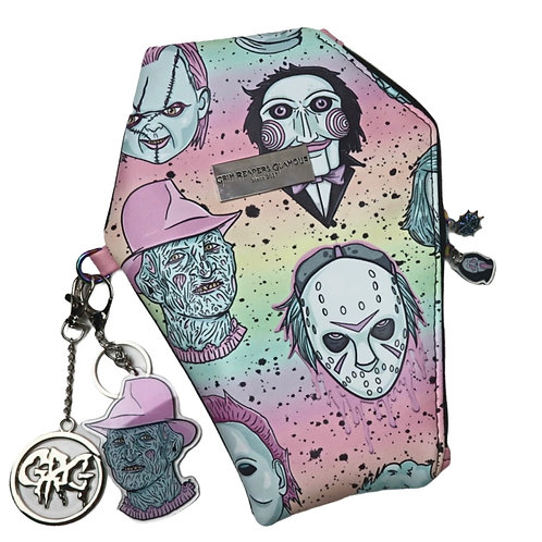 Pastel Horror Coffin Wallet
