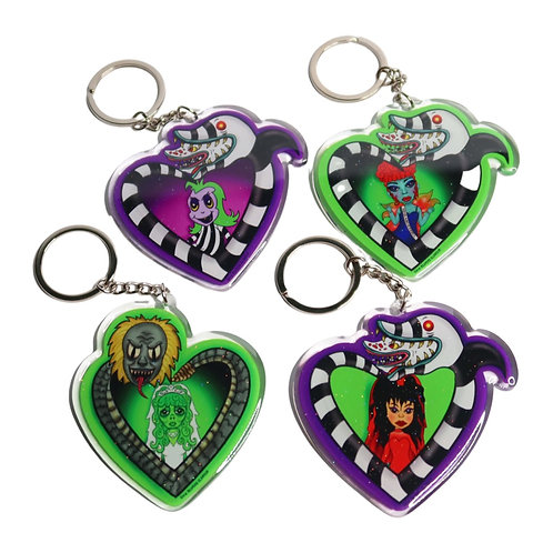 Say My Name - Glitter Acrylic Keychains individual