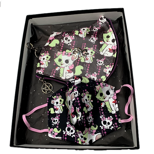 Marie Cat Zombie Faux Leather