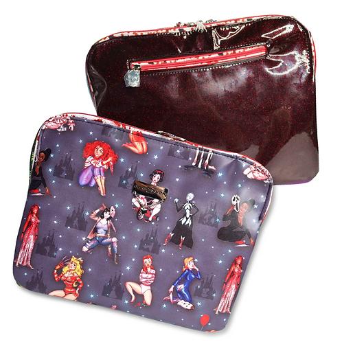 Horror Princesses Laptop Case - Faux Leather