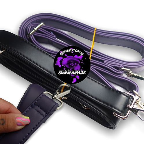 Faux Leather Crossbody Straps - Manu Exclusive