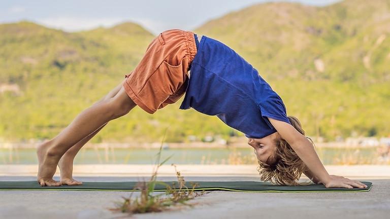 Hump Day Help: Virtual Kids Yoga