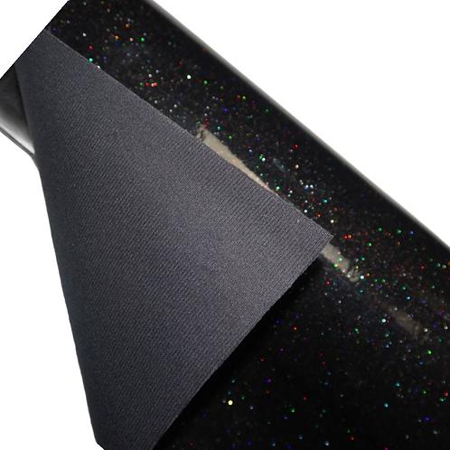 Rainbow Galaxy Thick Glitter Vinyl - Manu Exclusive