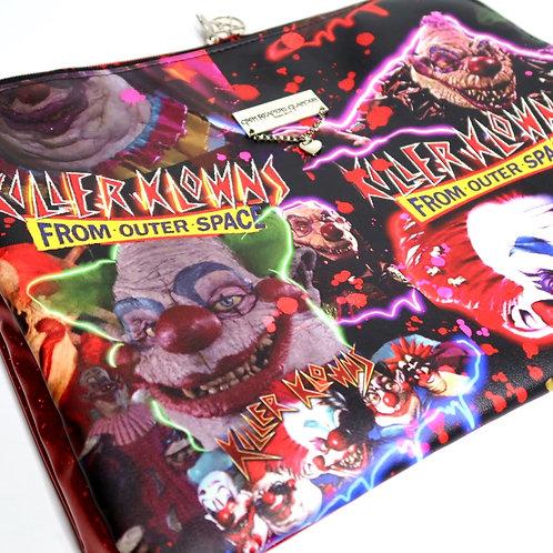 Killer Klowns Laptop Case - Faux Leather