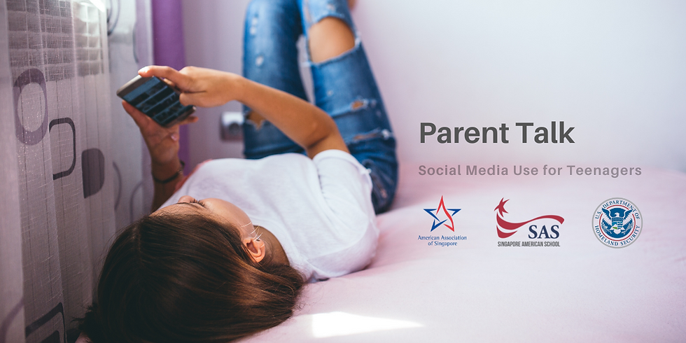 Parent Talk: Social Media Use for Teenagers