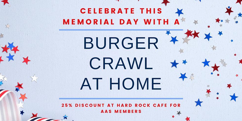 Memorial Day Burger Crawl Discount