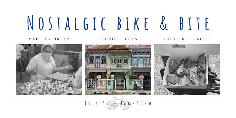 Nostalgic Bike & Bite Tour #2
