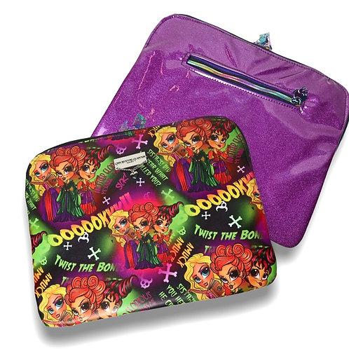 Hocus Pocus Laptop Case - Faux Leather