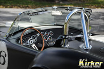 1965 Factory Five Shelby Cobra Hot Rod Black-Satin Finish (UA-70388)
