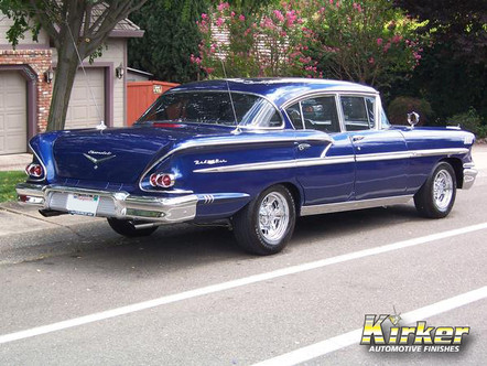 1958 Chevrolet Bel Air Royal Blue Pearl (41092)