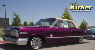 1963 Chevy Impalla Vivid Violet Candy (UC90) over Quicksilver Metallic Base (UCB01)