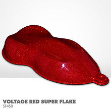 Voltage Red Super Flake