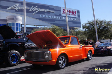 1970 Chevy C10 Mandarin Pearl Midcoat (10378) over Pure White (81030)